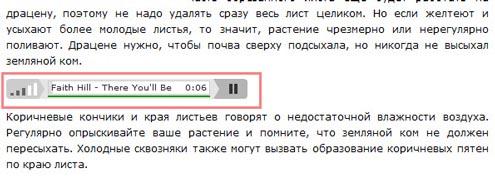Вставляем аудио и видео