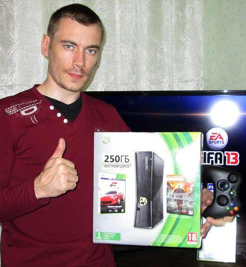 Как я выиграл Xbox 360 на партнерках!