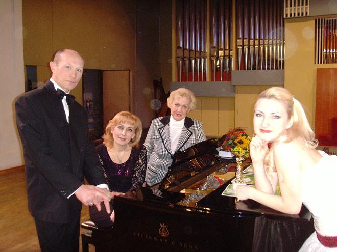 Ирина Зайцева в коллективе