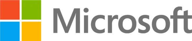 Логотип Microsoft хороший пример комбинированного логотипа
