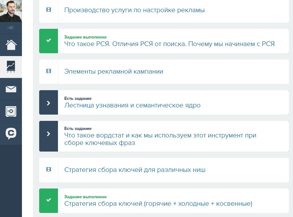 Обучение Яндекс.Директ. Личный кабинет