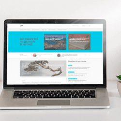 Обзор премиального WordPress шаблона «Sky»